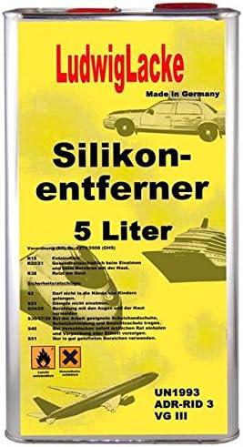 Ludwig Lacke Silikonentferner 5 Liter Kurz FÜr Autolack Lackierer Auto