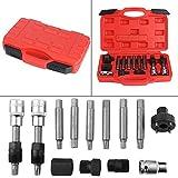 13 piezas motor extractor de correa extractor alternador polea volante extractor extractor motor conjunto de herramientas automáticas