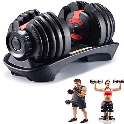 commercial Adjustable dumbbells with quick auto-adjustment and weights for body training … bell putters