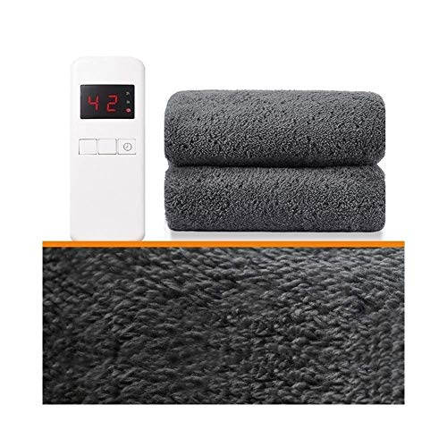 Double Electric Blankets, Heated Electric Blanket | Double Control Thermostat | Safety Radiation-free Home Student For Bed Or Couch | Overheat Protection | Double Size Fleece | 180 * 200cm,Bed Th