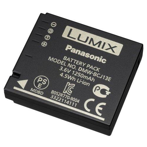 Panasonic LUMIX DMW-BCJ13E Li-Ion Akku (geeignet für LUMIX Digitalkameras) schwarz