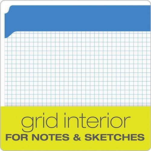 Pendaflex Color Reinforced Top File Folders, Letter Size, Full Tab Position, Blue, 100 Per Box (R152 BLU) Photo #5