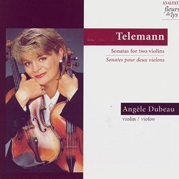 Telemann: Sonatas for Two Violins (Sonates Pour Deux Violins)