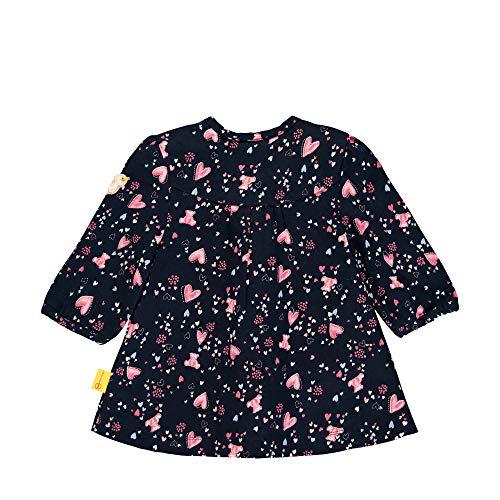 Steiff Mädchen Tunika T-Shirt, Blau (Black Iris 3032), 86 (Herstellergröße: 086)