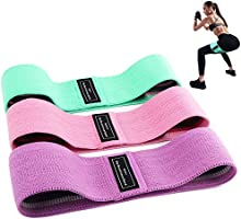 BEAU-PRO Elastici Fitness (3 Pezzi), Bande Elastiche di Resistenza Set di 3 Colorate Fasce Elastiche Fitness in Tessuto...