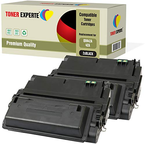 2er-Pack TONER EXPERTE® Premium Toner kompatibel zu Q5942A Q1338A für HP Laserjet 4200 4240 4250 4350