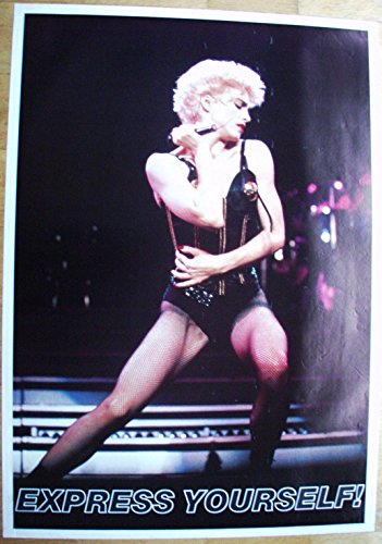 Poster Madonna Express yourself! Riesenformat 97 x 137 cm Giant-Poster XXL-Poster