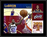 LeBron James Cleveland Cavaliers 2016 NBA Finals Champions 10.5' x 13' Sublimated Plaque - NBA Player Plaques and Collages