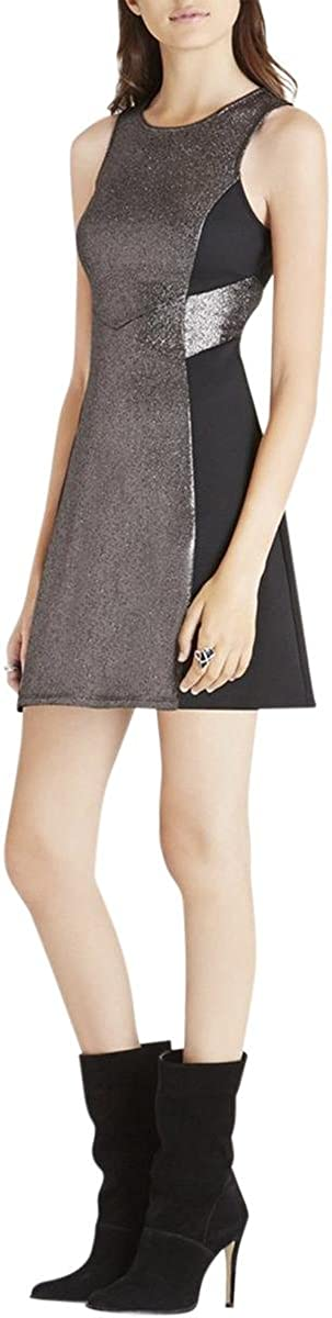 BCBGeneration Women's Dress with Contrast Panels