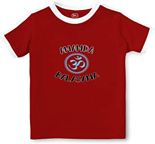 Ananda Balasana Crewneck Boys-Girls Toddler Cotton Soccer T-Shirt