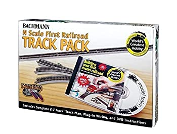 Bachmann World s Greatest Hobby Track Pack N Scale