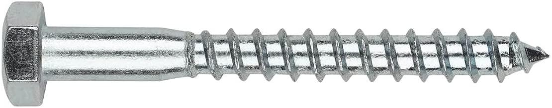 Index Fixing Systems din-571//–/Pack de 20/vis avec filetage pour bois et agglom/ér/é, t/ête hexagonale cincados, 7/x 80/mm