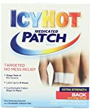 Icy Hot Medicated Patch Extra Strength Pain Relief Patch for Back or Large Area (5 Pain Patches)(3 Count)