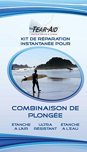 Tear-Aid - Kit de reparación instantánea para trajes de inmersión, velas, cometas...