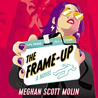 The Frame-Up audiobook cover art
