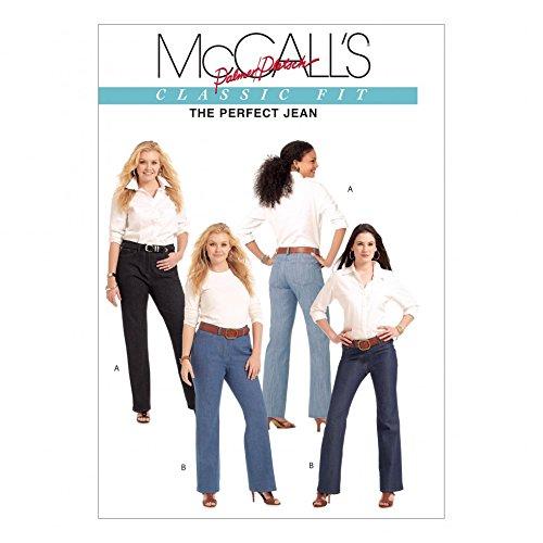 McCall 's Schnittmuster 5894Damen Plus Größe Hose Übergröße: 18–50