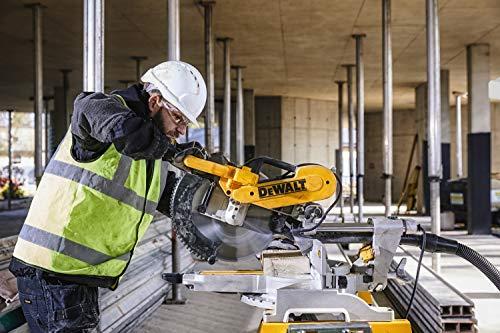 DeWalt Paneelsäge 1675W DWS780 inkl. Zubehör – Mit 305×30 mm HM-Sägeblatt ideal für den Innenausbau – Hohe Schnittkapazität & LED Schnittlinien Anzeige - 3