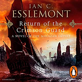 Return of the Crimson Guard     A Novel of the Malazan Empire              Auteur(s):                                                                                                                                 Ian C. Esslemont                               Narrateur(s):                                                                                                                                 John Banks                      Durée: 32 h et 8 min     4 évaluations     Au global 4,8