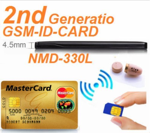 EDIMAEG REAL 4.5 W GSM ID BOX Card NMD-330L with spy wireless earpiece Kit (Full sets with earpiece)