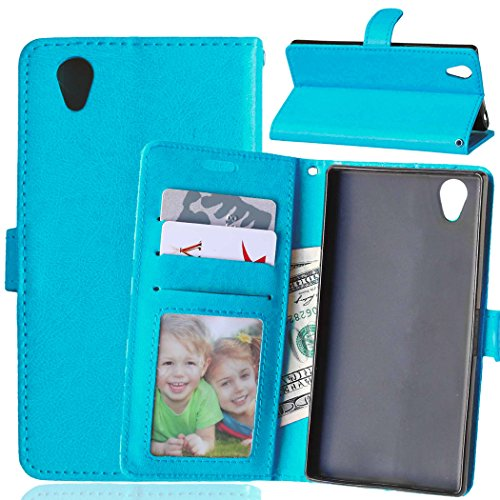 Lenovo P70 P70T Case, Bookstyle 3 Card Slot PU Leather Wallet for TPU Silicone Case Cover