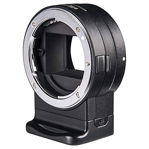 VILTROX NF-E1 Auto Focus AF Adaptador de Montura de Objetivo con Control de Apertura, Salida de transmisión para Lente Nikon F a cámara Sony E Mount A9 A7RIII A7RII A7III A7II A6500 A6300 A6400
