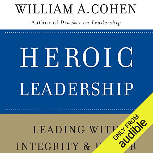 Heroic Leadership audiobook cover art