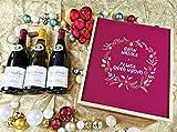 Coffret Cadeau Vins Noël'Couronne' (Italien) + 2 bouteilles de Chassagne de Montrachet Rouge et Blanc et 1 bouteille de Gevrey Chambertin