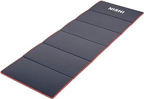 ニシスポーツ(NISHI) 折り畳み式 エクサマットNE-6 ブルー/グレー/レッド