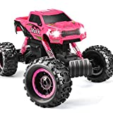 DOUBLE E RC Cars Newest 1:12 Scale Remote Control Car with Rechargeable Batteries and Dual Motors Off Road RC Trucks,High Speed Racing Car for Kids