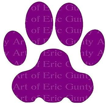 purple panther paw
