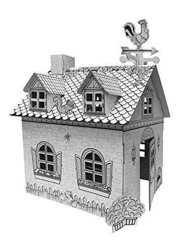 Ricco GL9750B Mini casa Rural de cartón