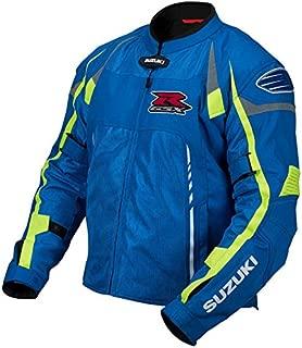 suzuki gsxr jacket blue