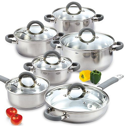Image of Cook N Home 02410 Stainless...: Bestviewsreviews