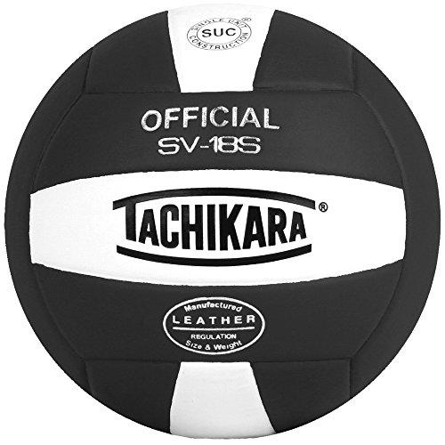 Tachikara Volleyball aus Verbundwerkstoff in Institutions-Qualität, Schwarz-Weiß