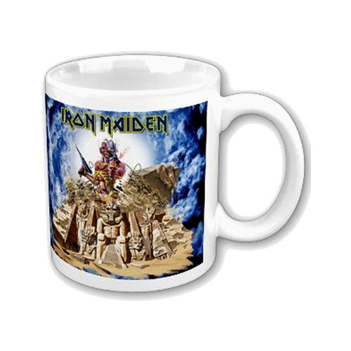 GGS Merch Iron Maiden Becher Somewhere Back in Time, in Box