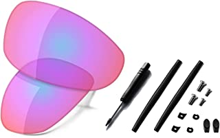Saucer Premium Replacement Lenses & Rubber Kits for Oakley Juliet Sunglass