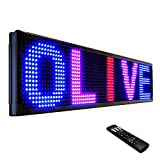 OLIVE LED Sign 3Color RBP, P26, 19'x52' IR Programmable Scrolling Outdoor Message Display Signs EMC - Industrial Grade Business Ad machine.