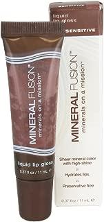 Mineral Fusion, Liquid Lip Gloss, Sensitive, 0.37 fl oz (11 ml)