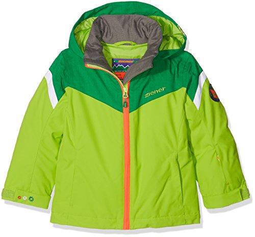 Ziener Kinder AMATIE jun (Jacket ski) Skijacke, Lime Green, 152
