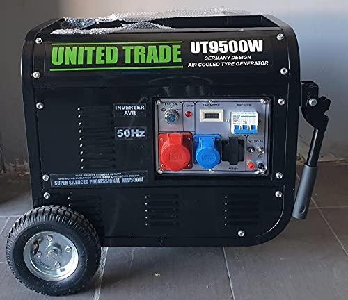 UNITED TRADE Generador de explosión/grupo electrógeno / generador de corriente HP 6.5...