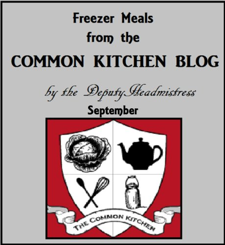 Freezer Meals from The Common Kitchen (Cooking in a Common Kitchen Book 1)