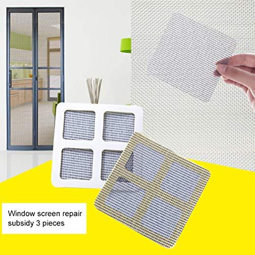 MAOJIE Bildschirm Tür Reparatur Aufkleber Home Vorhänge Füllloch Netzwerk Fenster Bildschirme Anti-Moskito-Reparatur-Tabletten Moskitonetz