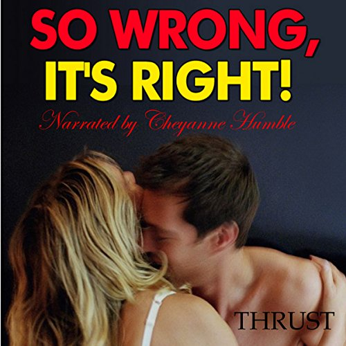 So Wrong, It's Right! audiobook cover art