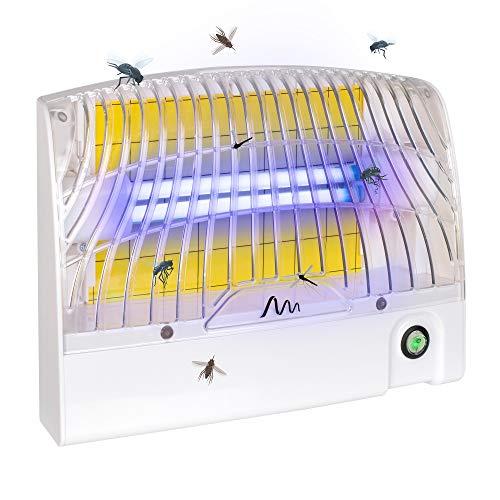 Gardigo Klebefalle | UV Insektenfalle gegen Mücken und weitere Fluginsekten | Mit Aufhängevorrichtung auf der Rückseite