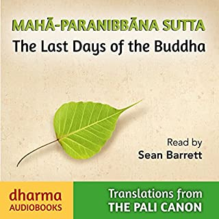 Maha-Paranibbàna Sutta audiobook cover art