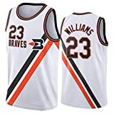 Photo de Louis Williams 23 Los Angeles Clippers Western Conference Garde Basketball Jersey Summer Jersey Manches Retro Fitness Sport Gilet (Color : A, Size : XXL) par