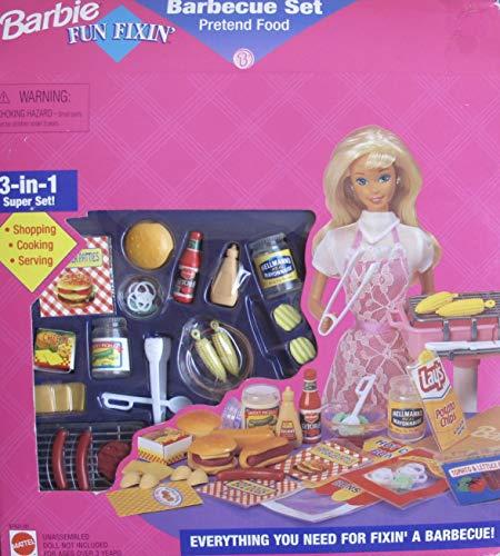 Barbie Fun Fixin Barbecue Set