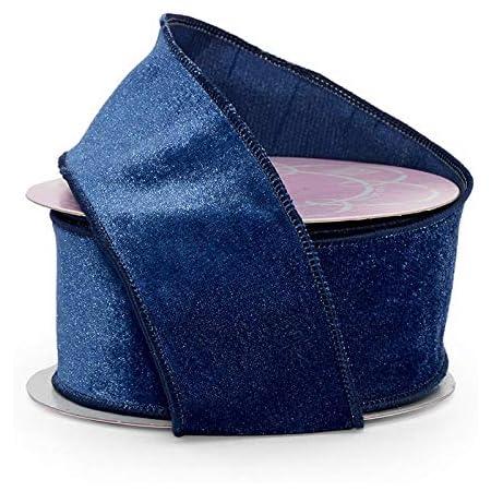Soft Blue Velvet Ribbon \u2022 14 \u2022 38