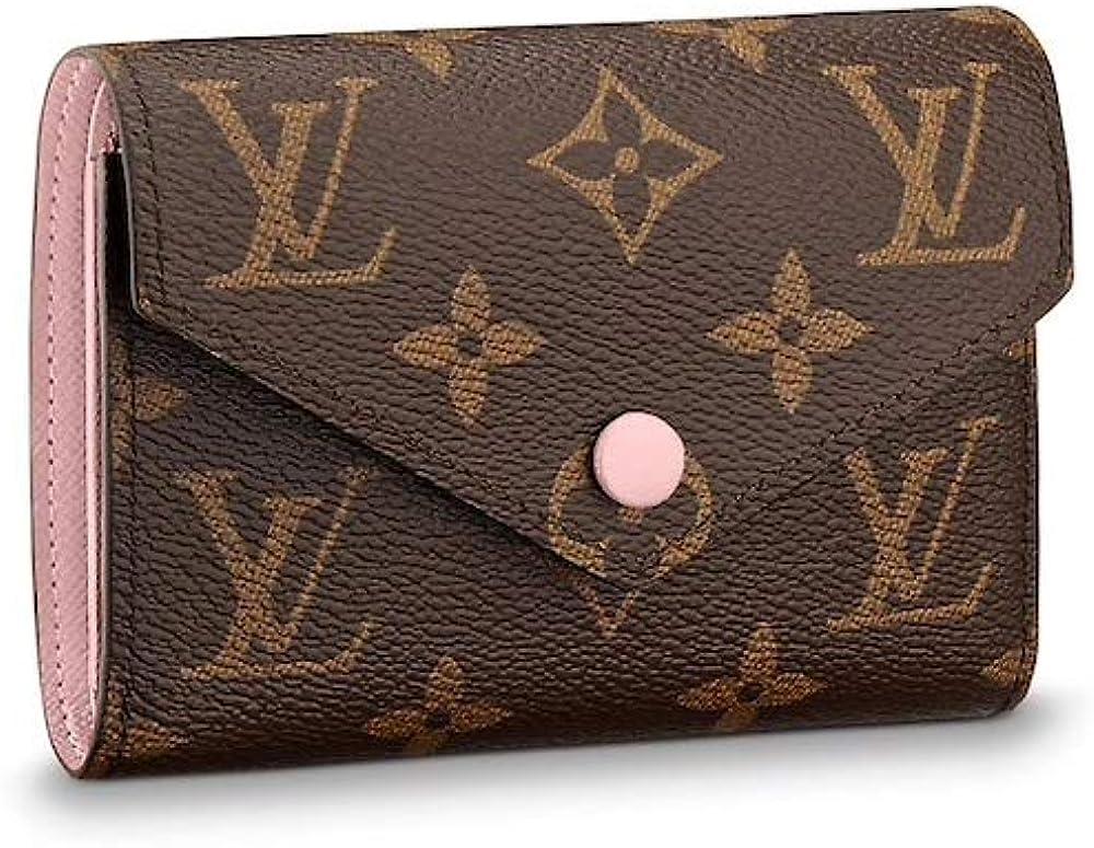 Louis Vuitton Monogram Canvas Victorine Balle 2021 model Rose M62360 Complete Free Shipping Wallet