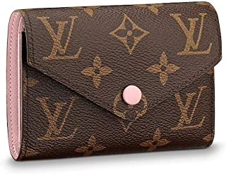 Louis Vuitton Monogram Canvas Victorine Wallet M62360 Rose Ballerine